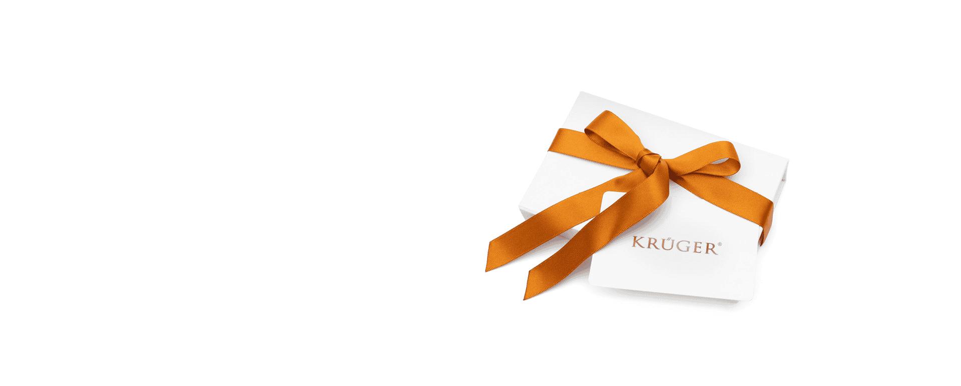 Krüger Geschenkkarte