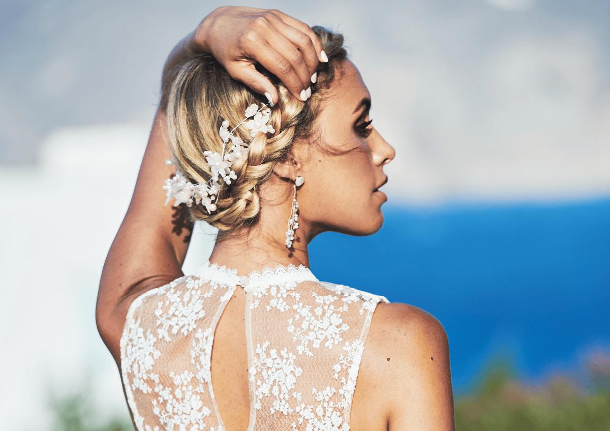 Offen lange haare frisuren anleitung hochzeit Brautfrisur halboffen